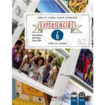 Experiencias 6 A2 Libro del alumno