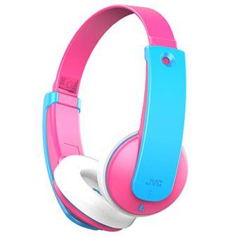 Auriculares infantiles Bluetooth JVC HA-KD9BT Rosa