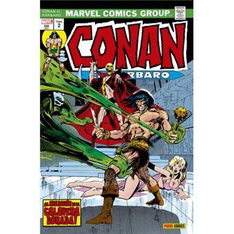 Conan el Bárbaro. La Etapa Marvel Original 2 - ¡La maldición de la calavera dorada!