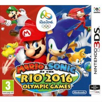 Mario Y Sonic En Los Juegos Olimpicos Rio 2016 Nintendo 3ds Para