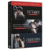 Trilogía Cincuenta sombras de Grey - DVD