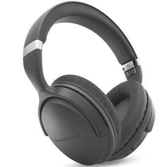 Auriculares Noise Cancelling Energy Sistem  BT Travel 7 Negro