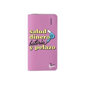 Powerbank La Vecina Rubia Salud, dinero, batería y pelazo 4000 mAh