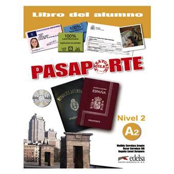 Pasaporte 2 (A2)- libro del alumno + CD audio
