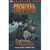 Cuento de Navidad zombi. Marvel zombi