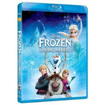 Frozen: El reino de hielo - Blu-Ray