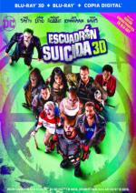 Escuadrón Suicida - Blu-Ray + 3D