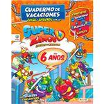 Cuaderno de Vacaciones - Juega y aprende con los Superzings