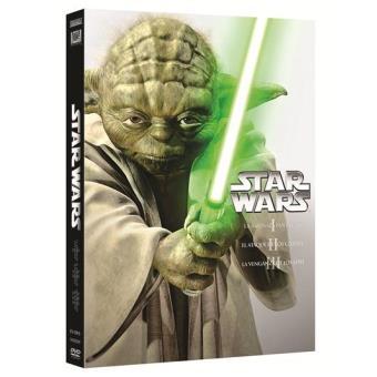 Star WarsPack Star Wars. Las precuelas: Episodios I, II y III - DVD