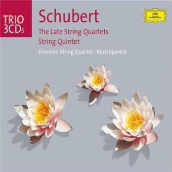Late string quartets & qu
