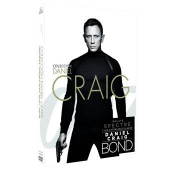 Pack Bond Daniel Craig - DVD
