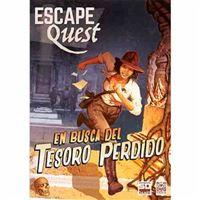 Escape Quest - En busca del tesoro perdido - Libro-juego