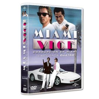 Corrupción en Miami - Miami Vice - Temporada 4 - DVD