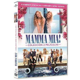 Pack Mamma Mia 1 + Mamma Mia 2 - DVD