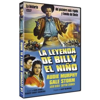 La leyenda de Billy el Niño - DVD