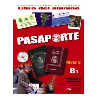 Pasaporte 3 (B1) libro del alumno + CD audio
