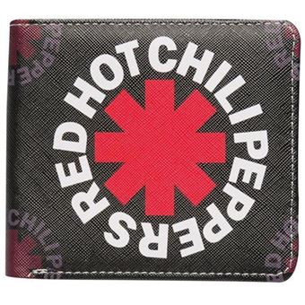 Monedero Red Hot Chili Peppers Black Asterisk