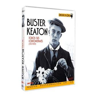 Pack Buster Keaton: Cortometrajes - DVD