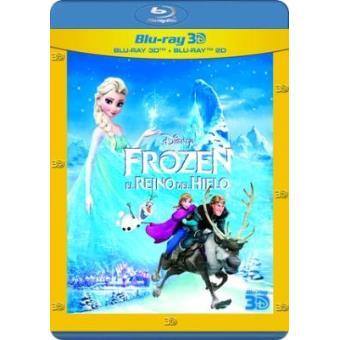 Frozen: El reino de hielo - Blu-Ray + 3D