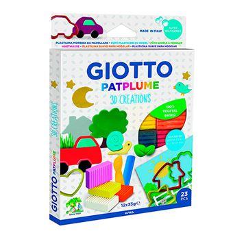 Set de plastilina Giotto Patplume 3D Creations