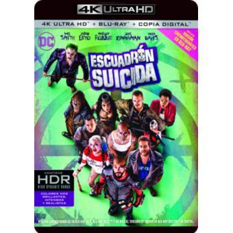 Escuadrón Suicida - UHD + Blu-Ray
