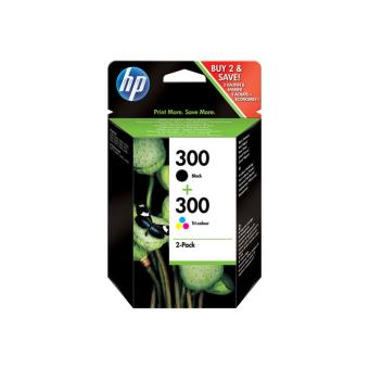 HP 300 Pack Tinta Negro + color