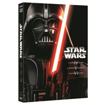 Star WarsPack Star Wars. Trilogía clásica: Episodios IV, V y VI - DVD