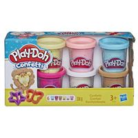 Pack Play-Doh confetti 6 botes