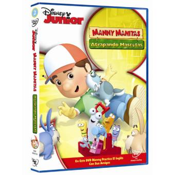 Manny Manitas: Atrapando mascotas - DVD