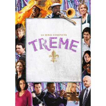 Treme - Temporadas 1 a 4 - DVD