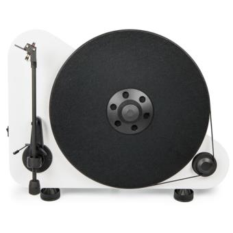 Tocadiscos vertical Pro-Ject VTE Blanco