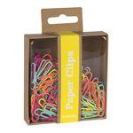 100 clips de colores fluorescentes surtidos