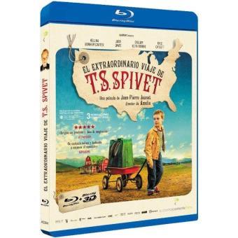 El Extraordinario Viaje de T.S. Spivet - Blu-Ray + 3D