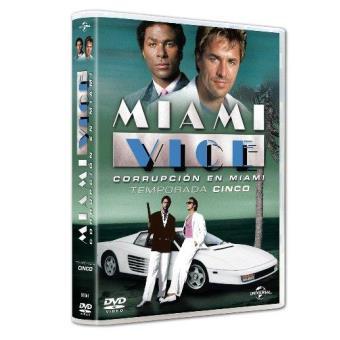 Corrupción en Miami - Miami Vice - Temporada 5 - DVD
