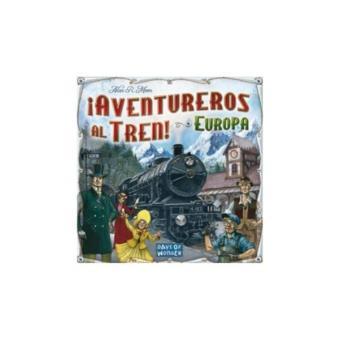 ¡Aventureros al tren! Europa. Juego de tablero