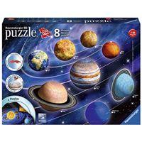 Puzzle 3D El sistema planetario