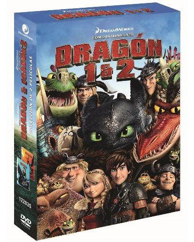 Cómo entrenar a tu dragón 1-2 - DVD