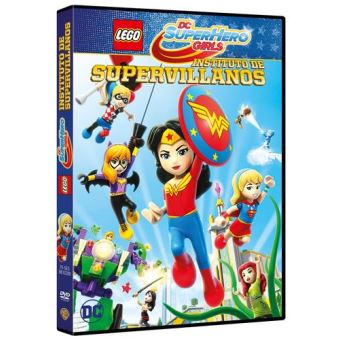 LEGO DC Super Hero Girls: Instituto de Supervillanos - DVD