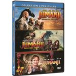 Jumanji: 1995 + Bienvenidos a la Jungla + El Siguiente Nivel - DVD