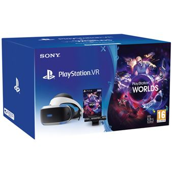 Playstation VR V2 + Cámara + VR Worlds (descargable)