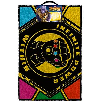 Felpudo Marvel Los Vengadores - Infinite Power Within