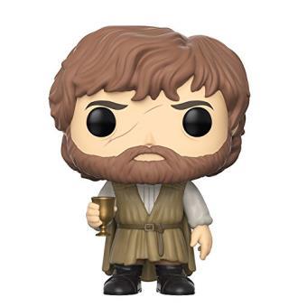 Figura Funko Juego de tronos - Tyrion Lannister con barba y copa de vino