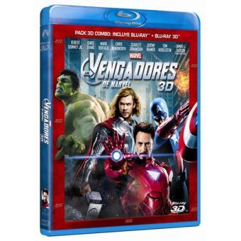 Los Vengadores - Blu-Ray + 3D