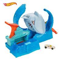 Hot Wheels City pista de coches salto de tiburón Mattel
