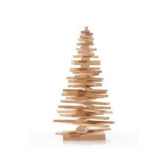 Abeto de madera decorativo 40 cm