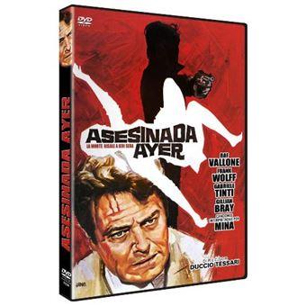 Asesinada ayer - DVD