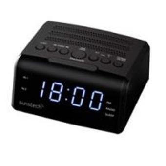 Despertador Sunstech FRD35U Negro