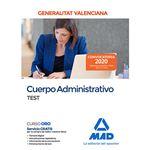 Administrativo test valencia
