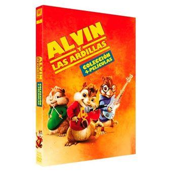 Alvin y las ardillas 1-4 - Ed Limitada DVD