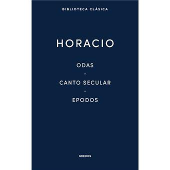 Odas, canto secular, epodo